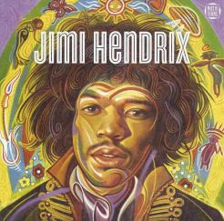Jimi Hendrix's life was saved by an angel-like alien being.