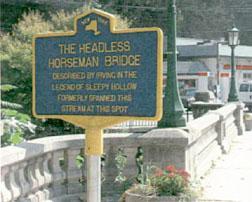 Sleepy hollow headless horsemen's bridge