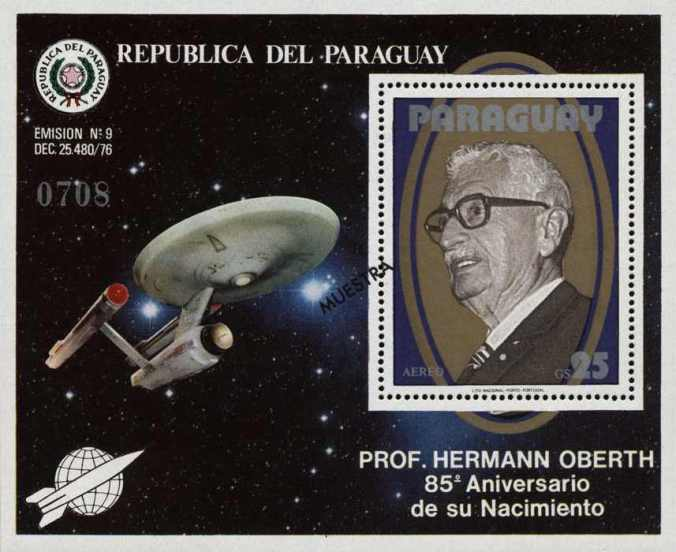 Hermann_Oberth_Enterprise_stamp_Paraguay1979 nazi famous worldwide