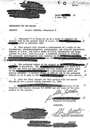 dr-sidney-gottlieb-approved-of-a-cia-ukultra-subproject-on-lsd-in-june-1953-letter