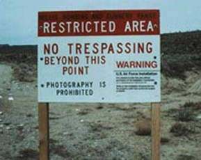 area 51 restricted area