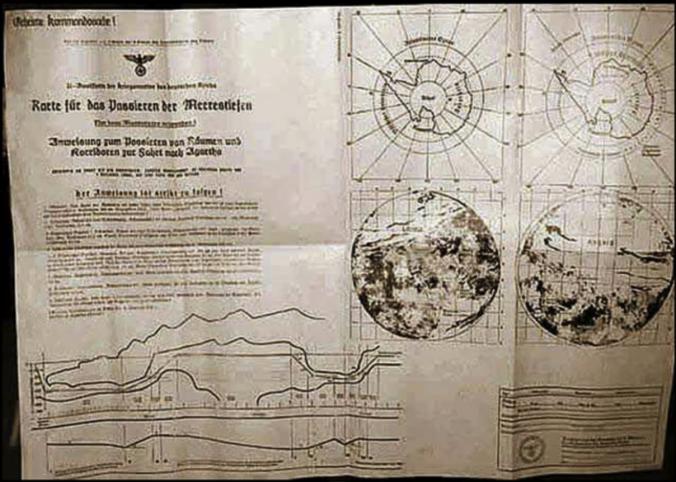 nazi hollow earth maps
