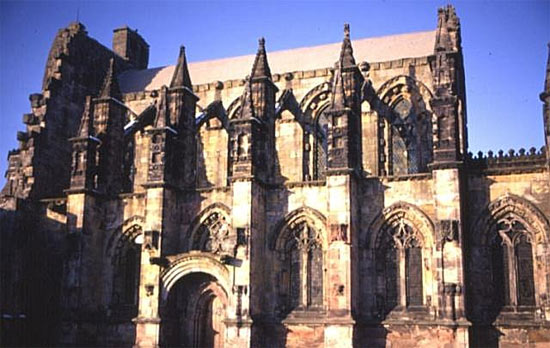 rosslyn chapel public domain