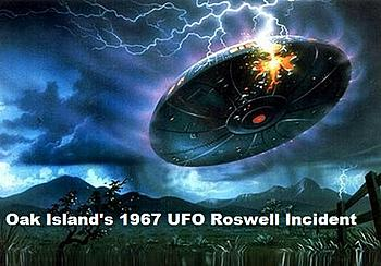 Shag Harbour UFO INCIDENT oak island