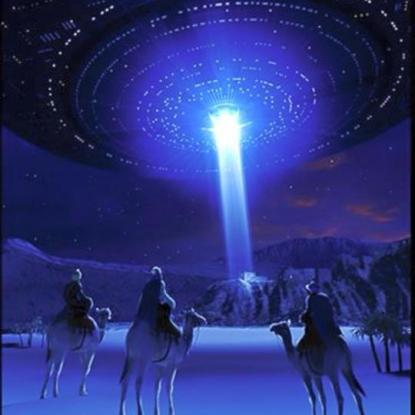 Barry Downing ufo and sthree wise men