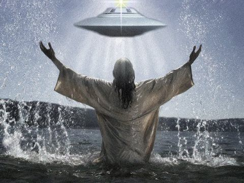 flying saucers bible jesus ufo