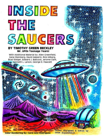 inside the saucers