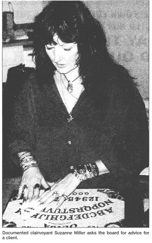 Susanne miller ouija board